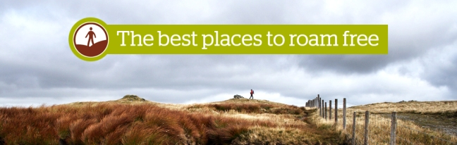 best places to roam free